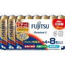 富士通 アルカリ乾電池PremiumS 単4 40本パック