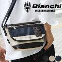 【店内全品10%OFFクーポン対象】送料無料 Bianchi ビアンキ メッセンジャーバッグ ショルダーバッグ メッセンジャーバッグ ショルダーバッグ ビアンキ 通学 通勤 TBPI-01 メーカー取次