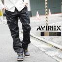 送料無料 AVIREX アビレックス ファティーグパンツ ベーシック カーゴパンツ AVIREX アヴィレックス カーゴパンツ ファティーグパンツ 616611...
