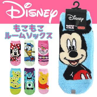 米奇米妮小熊維尼的怪物公司迪士尼蓬鬆蓬鬆動漫人物襪蓬鬆蓬鬆襪子房女士襪子寒暖
