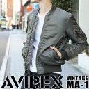 AVIREX アヴィレックス ヴィンテージ MA-1 6142178 avirex アビレックス メンズ アウター ma-1 フライトジャケット ブルゾン アメ...