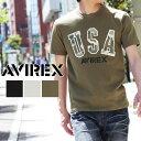 送料無料 AVIREX アビレックス U.S.A. CAMO TEE 6163395 AVIREX ブランド 半袖 Tシャツ メンズ ミリタリー アヴィレックス...
