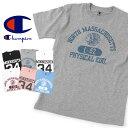 送料無料 Champion チャンピオン プリントTシャツ C9-H302 メンズファッション 半袖 カットソー アメカジ カレッジプリント アイビー 薄手 フロントプリント