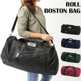 波士頓包男士女士旅行卷袋挎包鼓式大規模大學校旅行一樣樸素簡單也鼓包男女通用旅行包戶外