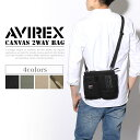 送料無料 AVIREX アビレックス キャンバス 2wayウエストポーチ&ショルダーバック メンズ ユニセックス