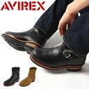 送料無料 AVIREX アビレックス ブーツ エンジニアブーツ スノーブーツ HORNET メンズ ショート 靴 シューズ ミリタリー バイカー メーカー取次