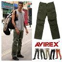 【送料無料】AVIREX アビレックス BASIC CARGO PANTS ベーシックカーゴパンツ 6ポケット ボトム ビンテージ ワーク メンズ 定番 軍パン【返品無料対応】【メーカー取次】【RCP】