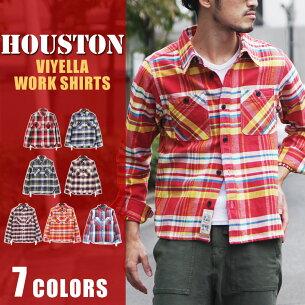 チェック ヒューストン ビエラワークシャツ ヴィエラ ブランド