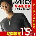 AVIREX Tシャツ アビレックス デイリー Tシャツ avirex アヴィレックス メンズ レディース Vネック Tシャツ 6143501 617351 送料無料
