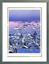 玩具, 爱好, 游戏 - 絵画 「雪の函館」 本間武男画伯 【送料無料】【smtb-tk】