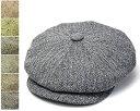 """帽子 イギリス王室御用達""""JamesLock(ジェームスロック)""""シルクツイード8枚はぎハンチング【あす楽対応】 【送料無料】[大きいサイズの帽子アリ][小さいサイズあり]【コンビニ受取対応商品】05P03Dec16"""