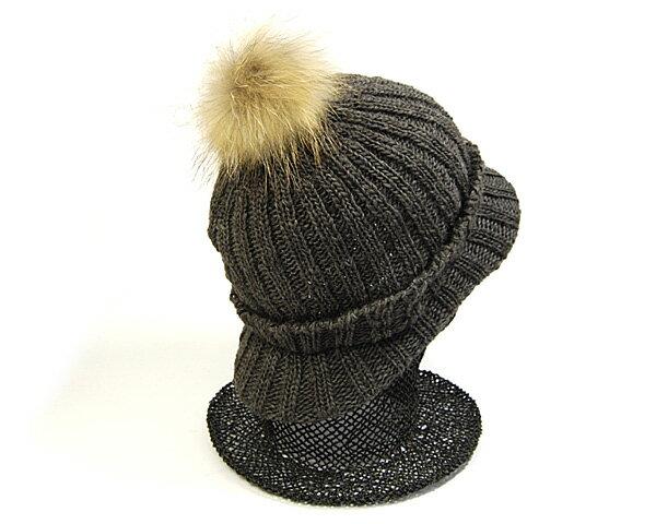 帽子 ファーボンボン(ピン付き)【コンビニ受取...の紹介画像2