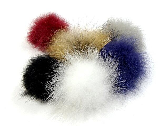 帽子 ファーボンボン(ピン付き)【コンビニ受取対応商品】【あす楽対応】