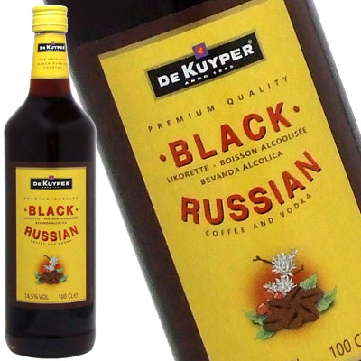 デカイパー black Russian 1000 ml 14. 5 degrees try Rakuten lows! Tim Sale liqueur liqueur type kawahc