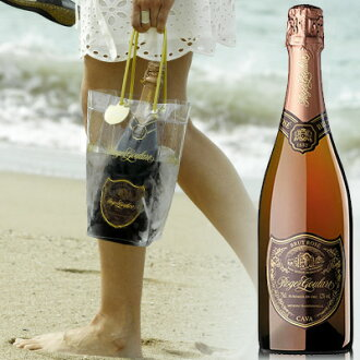 Taste of tradition from 1860, Spain prestigious Roger great Cava Rosé 750 ml Roger Grad ロジャグラート Rojak Grad ロジャグラ wine Spain blowing champagne sparkling kawahc