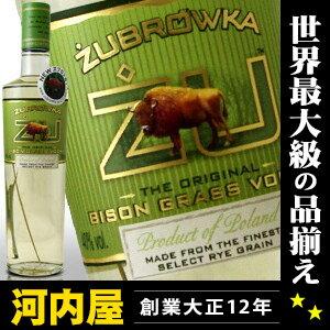 ズブロッカ ウォッカ 500ml 40度 正規品 (Zubrowka Vodka) kaw…...:kawachi:10002052