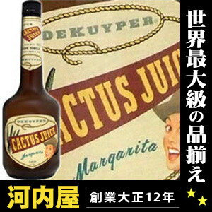 デカイパー Cactus juice 750 ml 15 degrees (DE KUYPER Cactus Juice) liqueur liqueur type kawahc