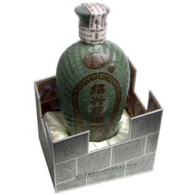 越王台陳年 20年 花彫酒 (青磁) 500m...の紹介画像2