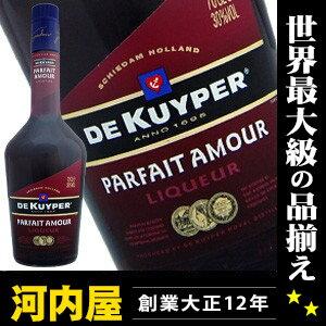 デカイパー パルフェタムール 700 ml 30 degrees (DE KUYPER Parfait Amour) genuine liqueurs liqueur type kawahc