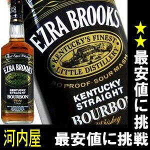 エズラ ブルックス ブラック 750ml 45度 正規品 バーボン ウイスキー エズラ エ…...:kawachi:10000938