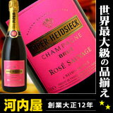�ѥ��ѡ� ���ɥ��å� �֥��å� �? ������������ 750ml (Piper-Heidsieck Champagne Brut Rose) �����ѥ� �����ѡ��˥� champagne kawahc