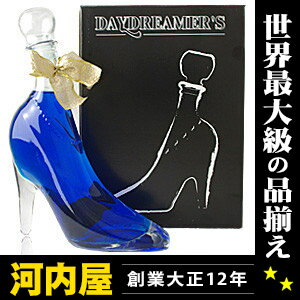 Blue Cinderella day dreamer with 350 ml 15 degree box's liqueur liqueur type kawahc with a Cinderella shoe Cinderella glass shoes Cinderella liquor proposal rings wedding rings