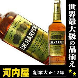 I. W. Harper gold medal 700 ml 40 times genuine Bourbon whiskey kawahc
