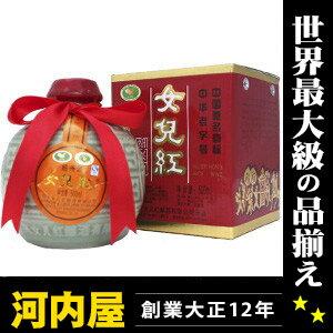 女児紅 花彫酒 500ml 16.5度 酒 中国 中国酒 kawahc
