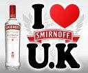 スミノフ ウォッカ U.K. 700ml 37.5度 (Smirnoff Vodka U.K) kawahc