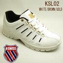 ケースイス スニーカー メンズ KSL02 ホワイト/ダーク...