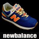 【セール】【送料無料】 ニューバランス レディーススニーカー WL574 ネイビー/ピンク newbalance wl574exa 靴シューズ 02P03Dec16