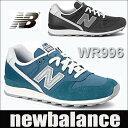 ニューバランス レディーススニーカー WR996 グレー ブルー newbalance wr996ib ic 【送料無料】