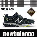 【透湿防水GORE-TEX】【送料無料】 ニューバランス ゴアテックス メンズトレールランニングスニーカー MT610 D GX5 ネイビー/イエロー newbalance mt610 02P03Dec16