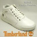 ティンバーランド メンズスニーカーブーツ マージ チャッカ プレミアム A18R4 Timberland MERGE chukka Premiumホワイトレザー