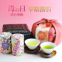 母の日 ギフト【先行早割】新茶 伝説の竹籠付きお茶セット高級...