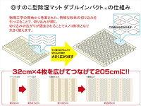 テイジンすのこ型除湿マット送料無料ダブルインパクトTEIJIN押入れ国産ベルオアシス05P05Apr14M