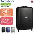 スーツケース | SAMSONITE (サムソナイト) VELOCITA (ベロチタ) Spinner 74cm 97Z*103 ファスナー/ジッパー