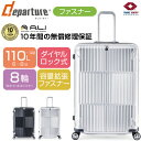 スーツケース | ALI (アジアラゲージ) departure (ディパーチャー) HD-502-31W ファスナー/ジッパー