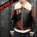 AVIREX アヴィレックス B-3ムートン ヴィンテージタイプ レザージャケット 2131026 送料無料 フライトジャケット ムートン ジャケ..