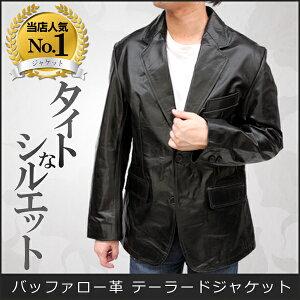 ジャケット バッファロー テーラードジャケット ブラック ブレザー