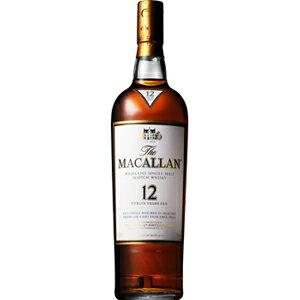 サントリーザ・マッカラン12年40度(正規品)700ml[箱入]※12本まで1個口配送可能<瓶洋酒>
