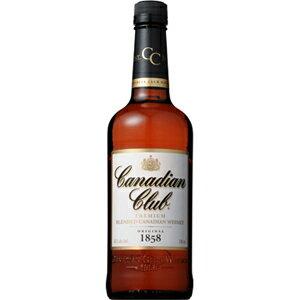 カナディアンクラブ40度(正規品)700ml※12本まで1個口配送可能<瓶洋酒><ウイスキー>[17