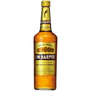 IWハーパーゴールドメダル40度(正規品)700ml※12本まで1個口配送可能<瓶洋酒><ウイスキー