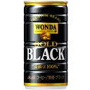 アサヒ ワンダ ゴールドブラック 185g×30本 [1ケース]<缶飲料>【4ケースまで1個口配送出来ます】缶コーヒー [21jl16am]