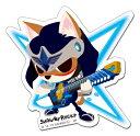 SHOW BY ROCK!!【ステッカー】(忍迅雷音*嵐・朧・燐・神威*4枚セット)