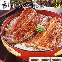 国産うなぎ蒲焼き150g×3本うなぎ ウナギ 鰻 蒲焼き 国内産 国産うなぎ 土用丑の日 冷凍食品 ひつまぶし ちらし寿司