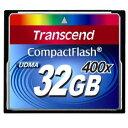 ◇ 【32GB】 Transcend/トランセンド コンパクトフラッシュ 400倍速 UDMA対応 永久保証 TS32GCF400 ◆メ