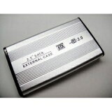 ◇ TFTEC/変換名人 HDDケース USB2.0接続 2.5インチSATA対応 HC-S25/U2 ◆メ