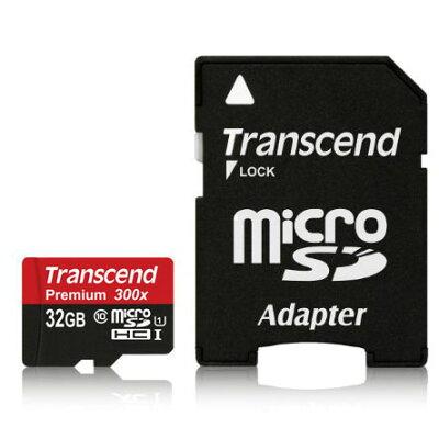 【32GB】 Transcend/トランセンド microSDHCカード class10 UHS-I対応 永久保証