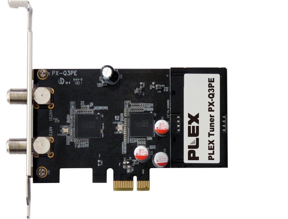 ◇ PLEX/プレクス 地上デジタル/BS・CSクアッドテレビチューナー PCI-Express対応/内蔵型 PX-Q3PE ◆宅
